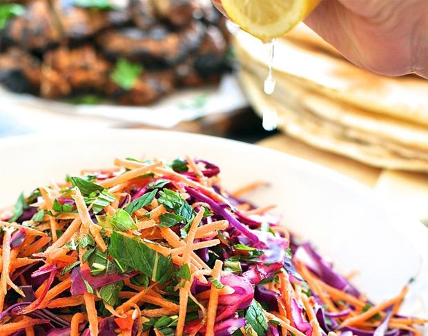 Posna vitaminska salata