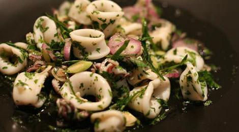 posna salata od lignji