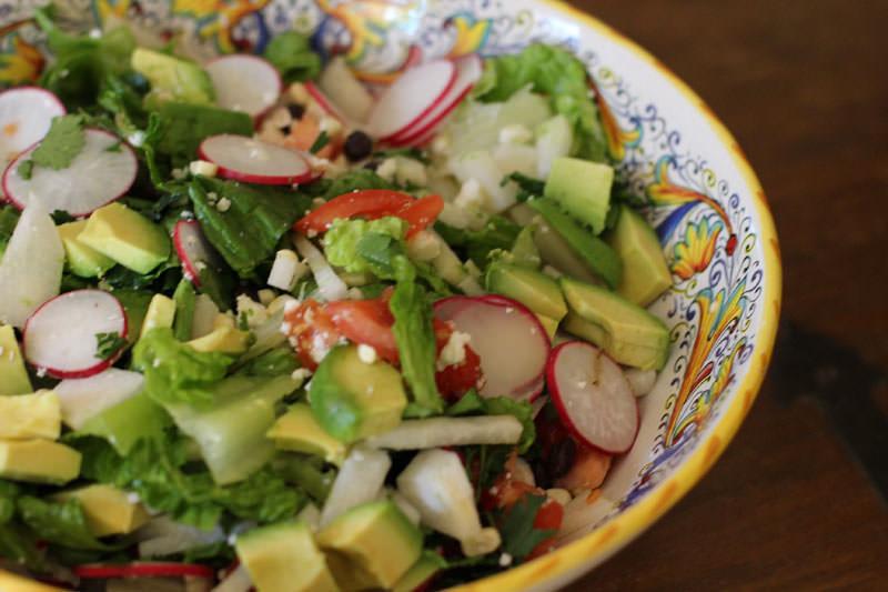 Posna salata sa đumbirom