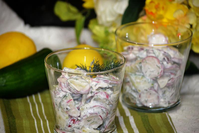 Salata od rotkvica i rena