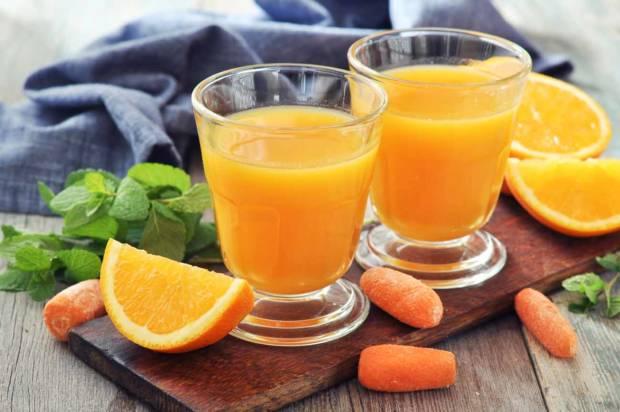 Sok od pomorandže i šargarepe